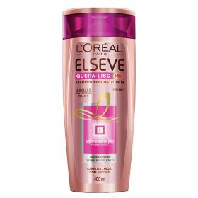 L'Oréal Paris Elseve Quera-Liso Mq 230°C - Shampoo - 400ml