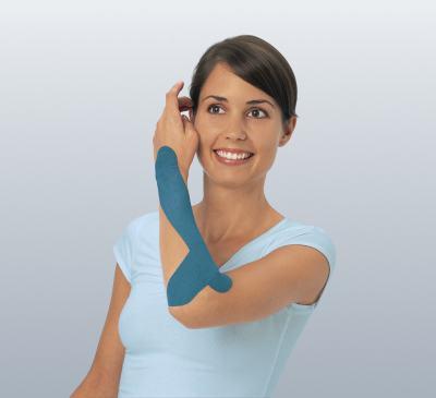 Leukotape 5 cm  X 5 m Azul BSN Medical