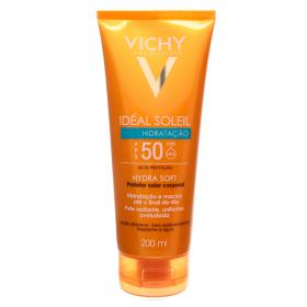 Idéal Soleil FPS 50 Hidratação Vichy - Protetor Solar Corporal - 200ml