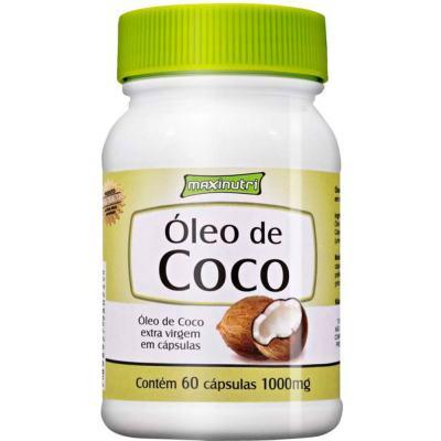 Oleo De Coco Extra Virgem 60cps - Maxinutri