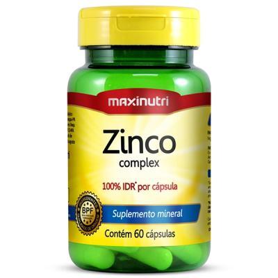 Zinco Quelato 60cps - Maxinutri - ZINCO QUELATO 60CPS