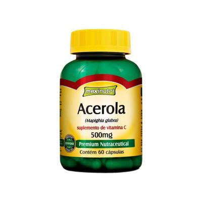 Acerola 60cps - Maxinutri - ACEROLA 60CPS