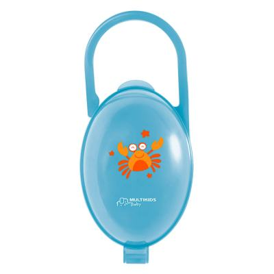 Porta Chupeta Azul Multikids Baby - BB141 - BB141