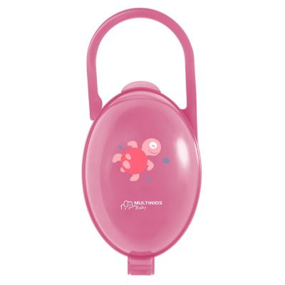 Porta Chupeta Rosa Multikids Baby - BB142 - BB142
