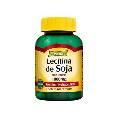 Lecitina de Soja 1g 60cps - Maxinutri - 60Cps