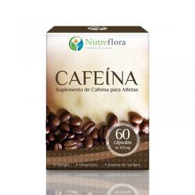 Cafeína - 420 mg - 60 cápsulas - Nutreflora -