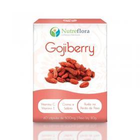 Goji Berry - 500 mg - 60 cápsulas - Nutreflora -