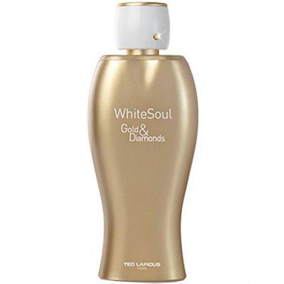 Imagem 1 do produto White Soul Gold & Diamonds Eau de Toilette Ted Lapidus - Perfume Feminino - 100ml