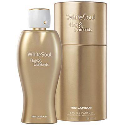 Imagem 2 do produto White Soul Gold & Diamonds Eau de Toilette Ted Lapidus - Perfume Feminino - 100ml