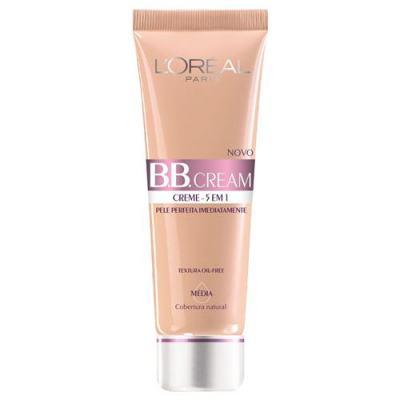 BB Cream 5 em 1 SPF20 50ml L'oréal Paris - Base - Médio