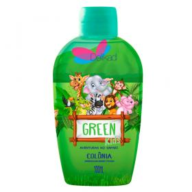 Delikad Kids Safari Green - Deo Colônia Infantil - 100ml