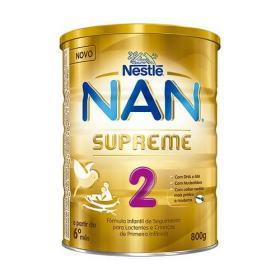 Leite Em Pó Nan Supreme 2 Com 800 Gramas -