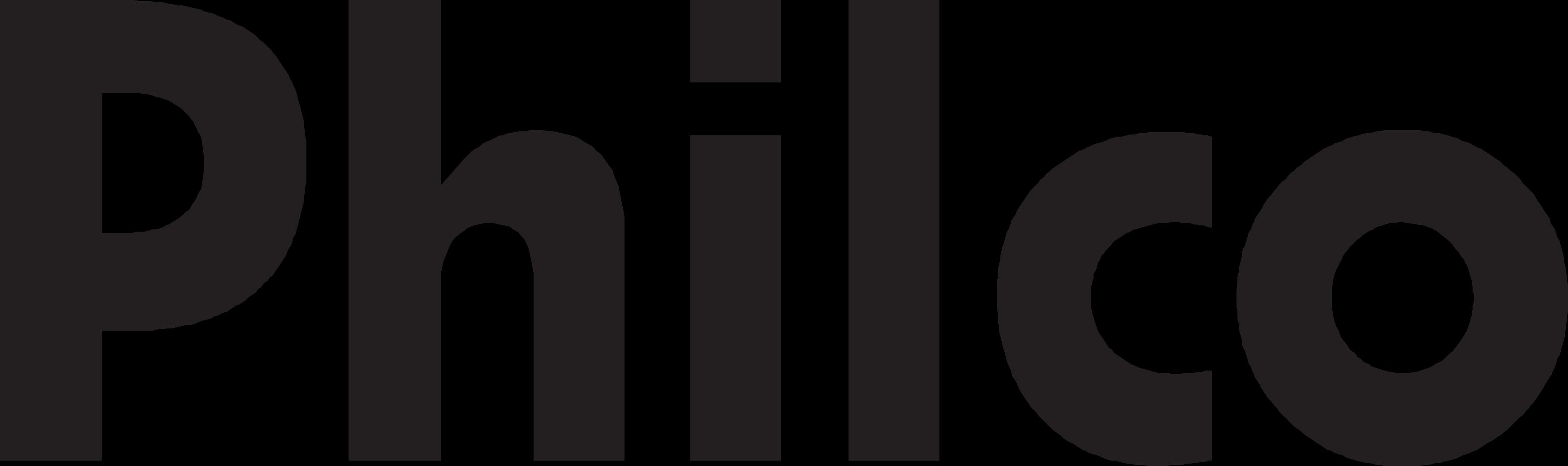 Logo da marca philco