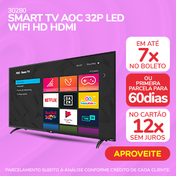Par Perfeito - Smart TV AOC