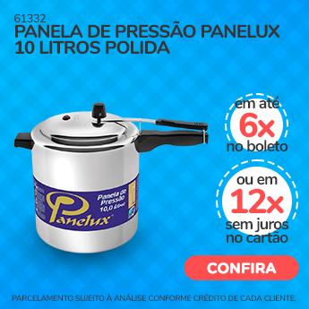 Arraia Xonado - PANELA DE PRESSÃO PANELUX 10 LITROS