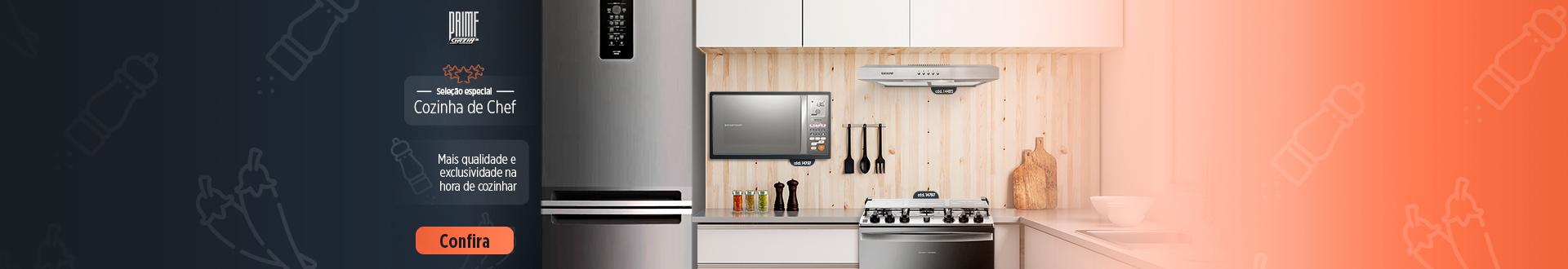 Cozinha de Chef - Linha Prime