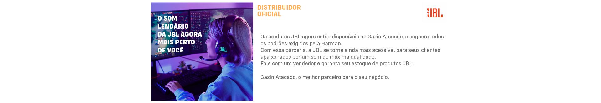 Gazin Atacado distribuidor oficial JBL