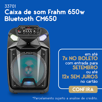 CAIXA DE SOM FRAHM 650W