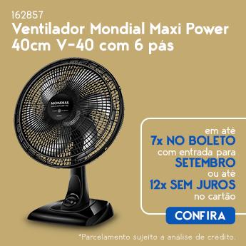 VENTILADOR 40 CM MONDIAL
