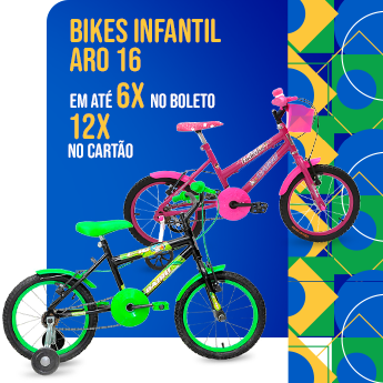 Semana do Brasil - Bikes Infantil