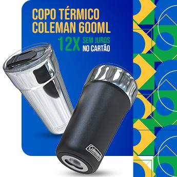 semana do Brasil - Copo Coleman