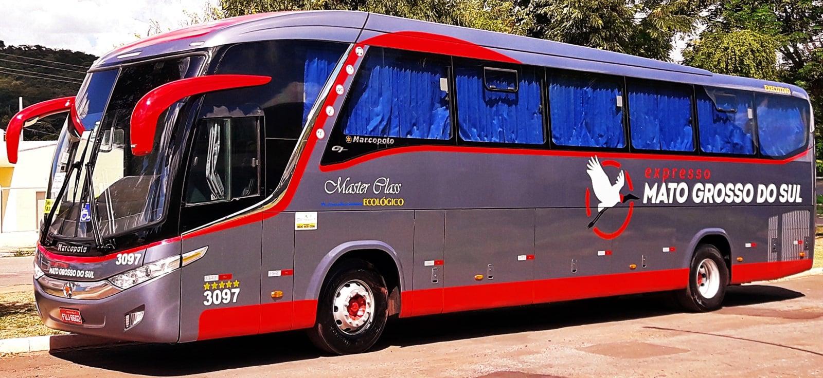Frota Ônibus Expresso Mato Grosso