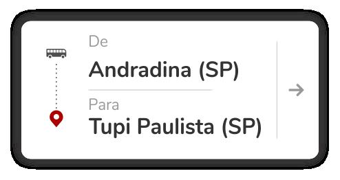 Andradina (SP) - Tupi Paulista (SP)