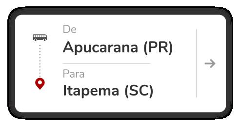 Apucarana (PR) - Itapema (SC)