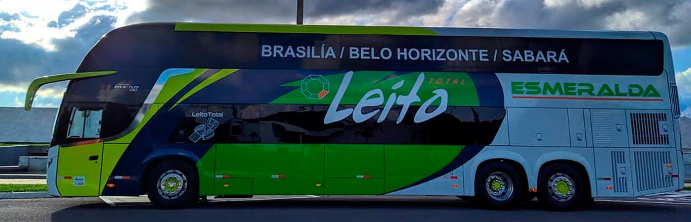 Frota ônibus Esmeralda