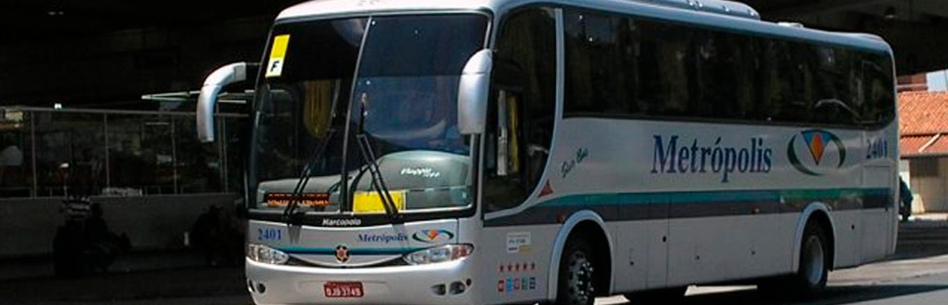 Frota Ônibus Estância Metrópolis