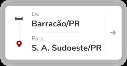 Barracão (PR) - Santo Antônio do Sudoeste (PR)
