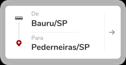 Bauru (SP) - Pederneiras (SP)