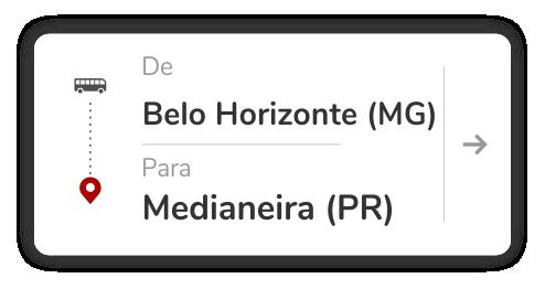 Belo Horizonte (MG) - Medianeira (PR)