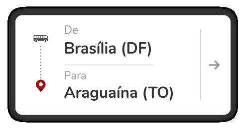 Brasília (DF) - Araguaína (TO)