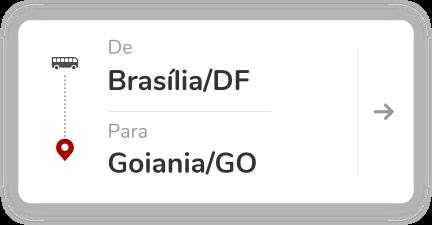 Brasilia DF - Goiania GO