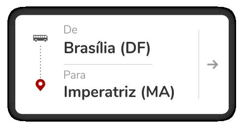 BRASÍLIA - DF para IMPERATRIZ - MA