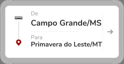 Campo Grande MS - Primavera do Leste MT