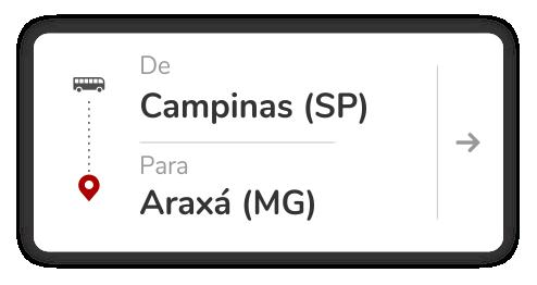 Campinas (SP) - Araxá (MG)