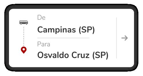 Campinas (SP) – Osvaldo Cruz (SP)