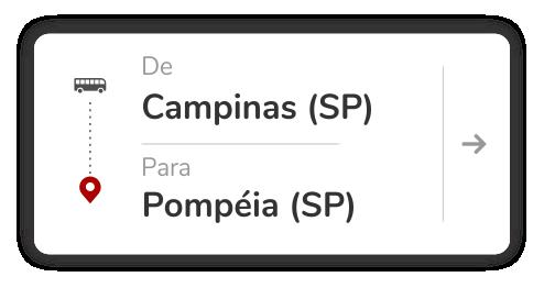 Campinas (SP) - Pompéia (SP)