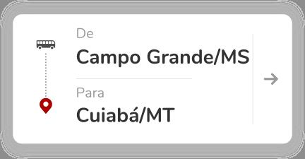 Campo Grande MS - Cuiaba MT
