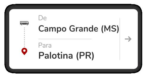 Campo Grande (MS) - Palotina (PR)