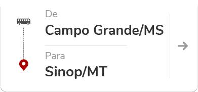 Campo Grande MS -  Sinop MT