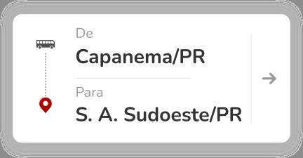 Capanema PR) - Santo Antônio do Sudoeste (PR)