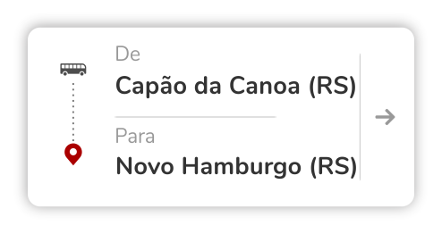 Capão da Canoa (RS) - Novo Hamburgo (RS)