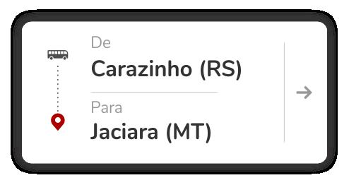 Carazinho (RS) - Jaciara (MT)