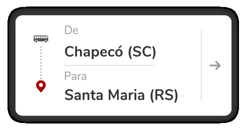 Chapecó (SC) - Santa Maria (RS)