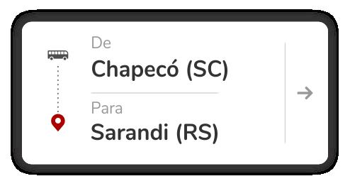 Chapecó (SC) - Sarandi (RS)