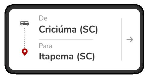 Criciúma (SC) - Itapema (SC)