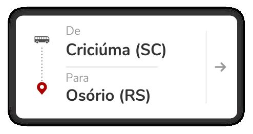 Criciúma (SC) - Osório (RS)